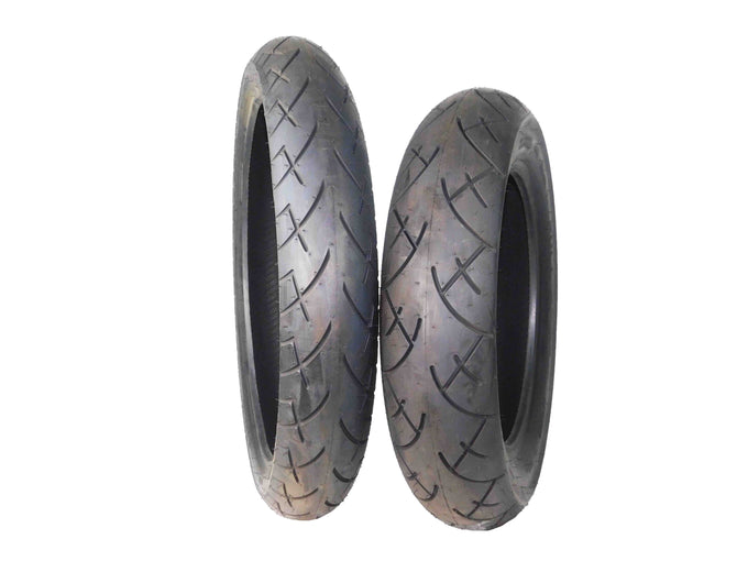 Full Bore 120/70-21 Front 140/90-15 Rear Set Cruiser Motorcycle Tires