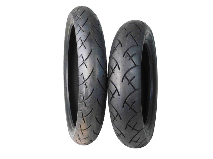 Full Bore 120/70-21 Front 130/90-16 Rear Set Cruiser Motorcycle Tires