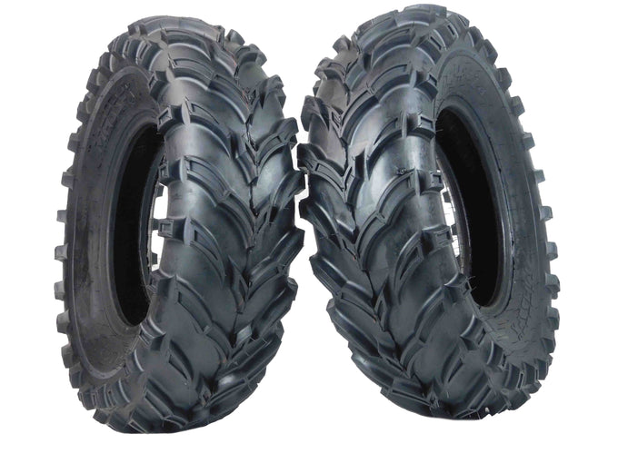 MASSFX ATV MS Tire 2 set 25x8-12 Front 6Ply 25""