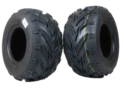 MASSFX Go Kart/ATV Tires 2 set 16x8-7 4Ply
