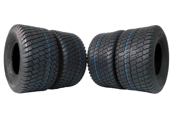 MASSFX, 18x9.5-8, Lawn Mower, Tires, 4 Pack
