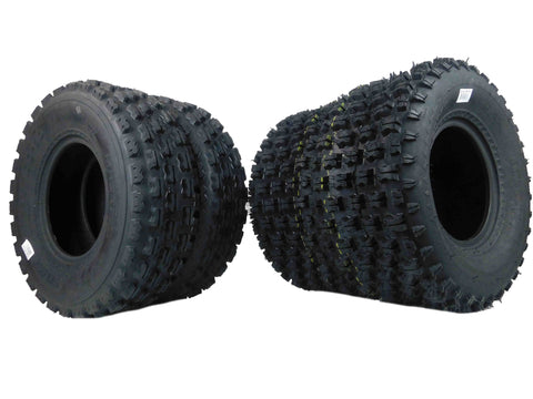 MASSFX ATV Tires 4 set 22X7-10 Front 20X10-9 Rear 4Ply