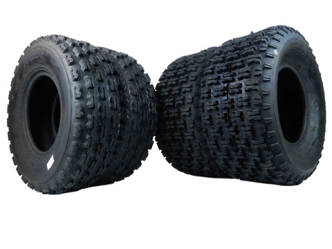 MASSFX ATV Tires 4 set 22X7-10 Front 22X10-10 Rear 4Ply