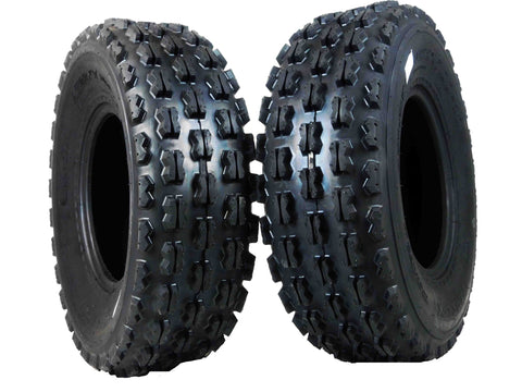 MASSFX ATV Tire 2 set 22x7-10 Front 4Ply 22""