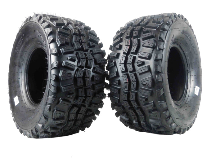 Two MASSFX 23x11-10 Tires