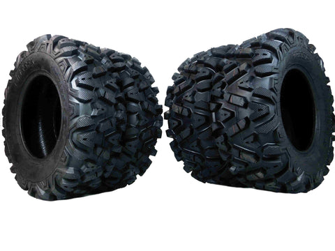 MASSFX KT ATV Tires 4 set 25X8-12 Front 25X10-12 Rear 6Ply