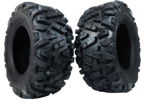 MASSFX KT ATV Tire 2 set 25x10-12 Rear 6Ply