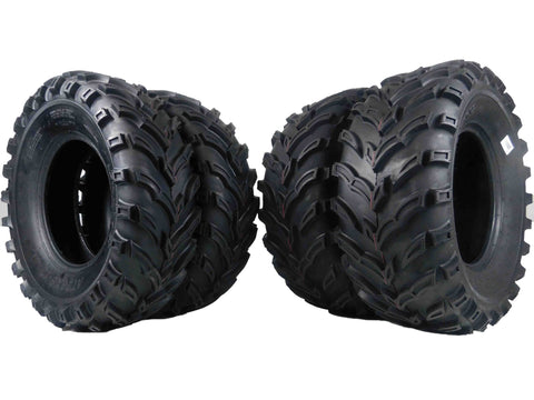 MASSFX ATV MS Tire 4 set 26x9-12 Front 26x11-12 Rear 6Ply