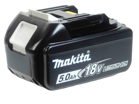 Makita BL1850B Black and White Battery