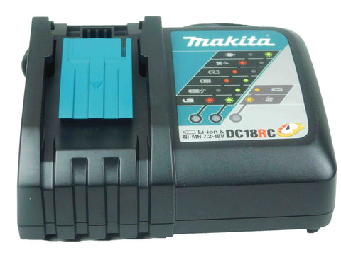 Makita, DC18RC, 18V, Lithium Ion, Battery, Charger