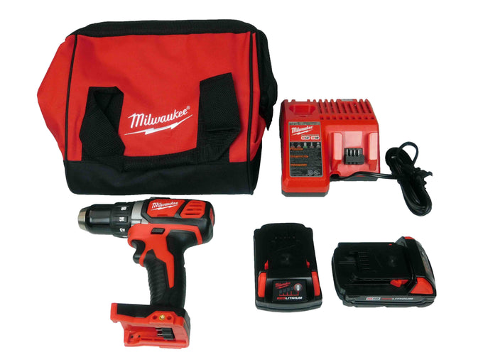 "Milwaukee 2606-22CT M18 Compact 1/2"" Drill Driver Kit"