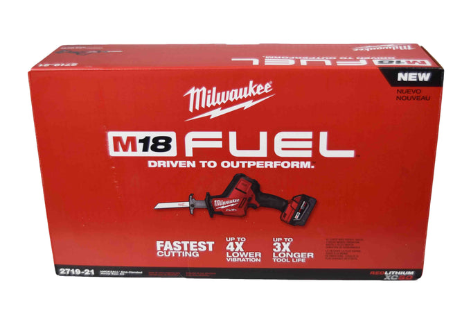Milwaukee 2719-21 M18 18V FUEL Hackzall Reciprocating Saw Kit
