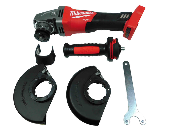 "Milwaukee 2781-20 M18 4-1/2"" / 5"" Grinder Slide Switch Lock On"