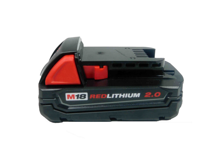 Milwaukee 48-11-1820 M18 18 Volt Lithium-Ion 2.0 Ah Compact Battery