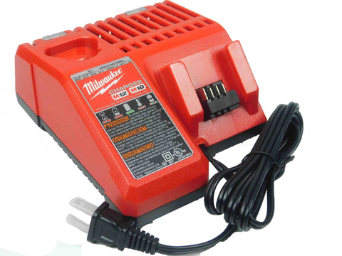 Milwaukee 48-59-1812 12V &18V M12 & M18 Lithium Ion Battery Charger