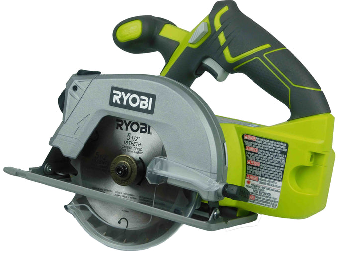 Ryobi p506 18v 5 12 cordless circular saw with laser bare tool ryobi p506 18v 5 12 cordless circular saw with laser bare tool greentooth Image collections