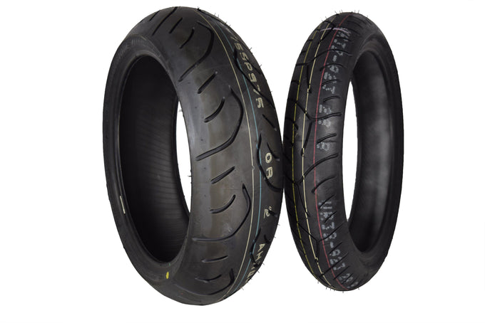 Bridgestone Battlax 120/70ZR17 190/50ZR17 Front Rear T30 EVO Tires