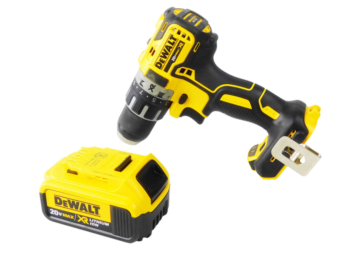 "Dewalt DCD791B 20V 1/2"" Brushless Drill 4Ah DCB204 Lithium-Ion Battery"