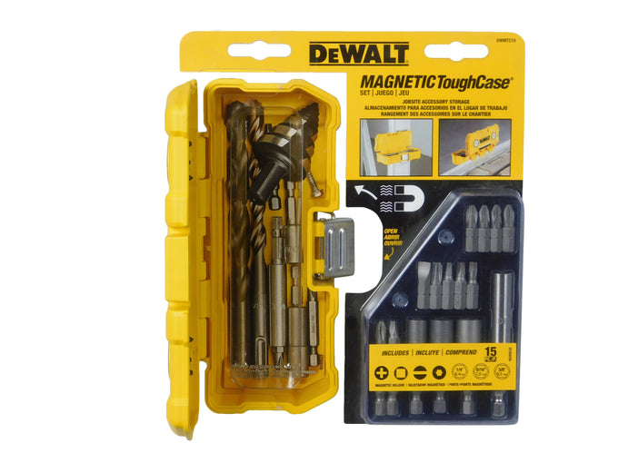 DEWALT DWMTC15 DeWalt 15PC MAGNETIC TOUGH CASE