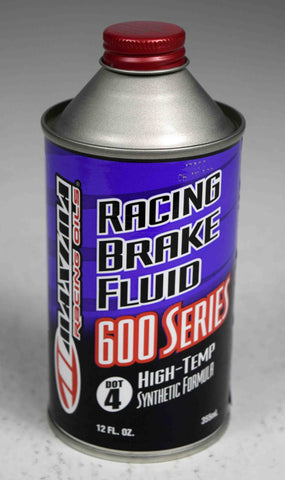 Maxima 80-87912 Synthetic DOT 4 Racing Brake Fluid - 12 oz. Bottle