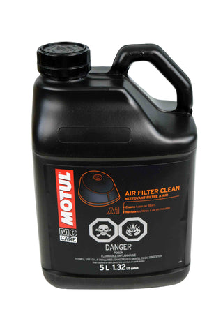 Motul 103247 A1 Air Filter Clean 5L/5.28 Quarts Can