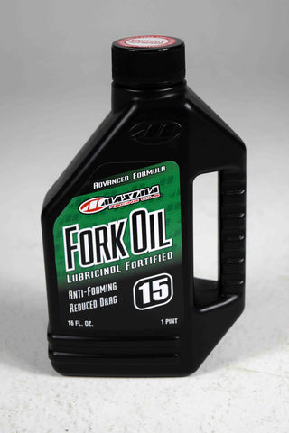 Maxima 56916 15WT Standard Hydraulic Fork Oil - 16 oz. Bottle