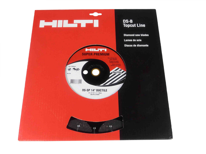 "Hilti Metal DS-SP 14"" X .110 Ductile Blade"