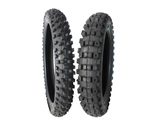 Full Bore 70/100-17 F 90/100-14 R M37 Extreme Dirt Bike Tire Set