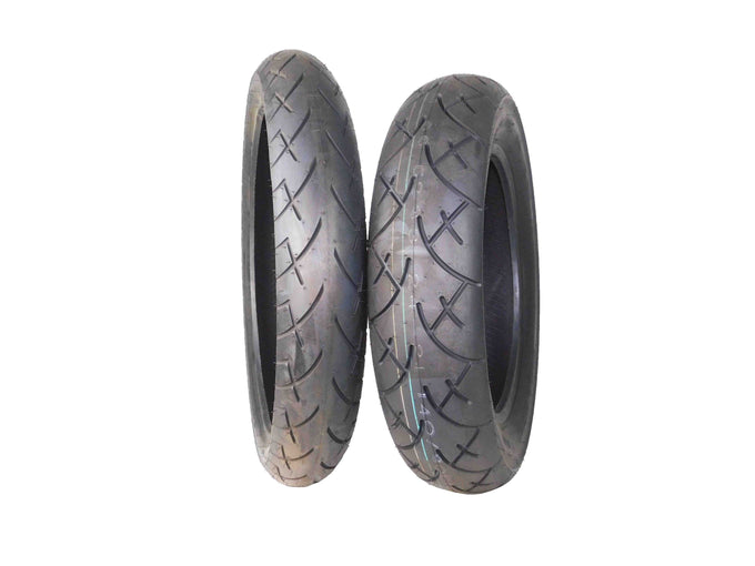 Full Bore 120/70-21 Front 140/90-16 Tour King Cruiser Motorcycle Tires