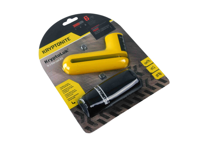 Kryptonite 998655 Yellow Disc Lock Main