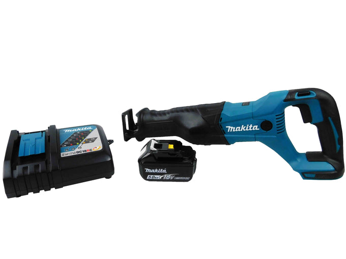 Makita XRJ04Z Black and Blue Reciprocating Saw Kit
