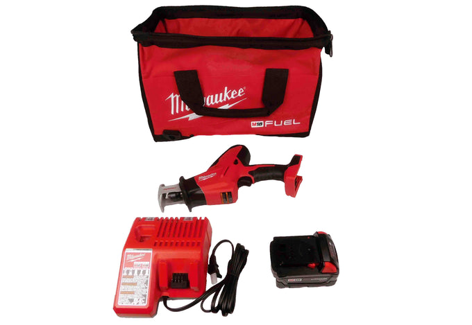Milwaukee 2625-21 Red-Lithium M18 18V Hackzall Reciprocating Saw Kit