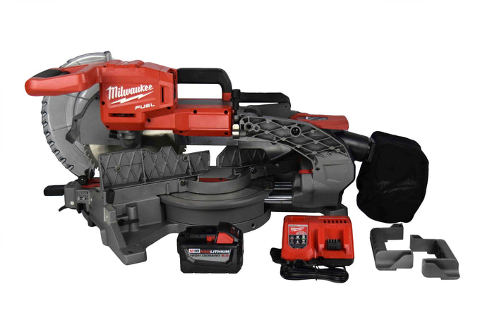 Milwaukee 2734-21HDP Cordless Fuel 18V Dual-Bevel Miter Saw Kit