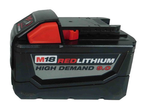 Milwaukee 48-11-1890 M18 Redlithium High Demand 9.0 ah Battery