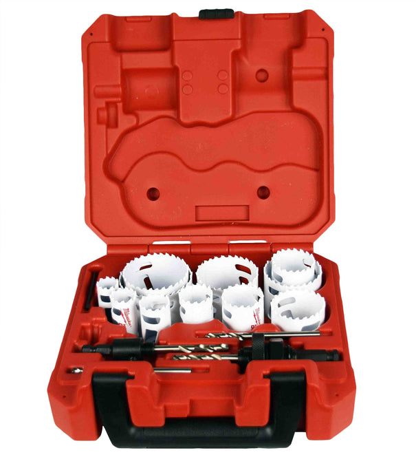 Milwaukee 49-22-4175 15 PC General Purpose Hole Dozer Hole Saw Kit