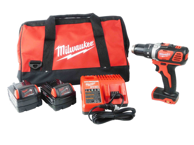 "Milwaukee 2606-20 1/2"" Drill Driver Kit 3 Ah Battery Pack Charger Bag"