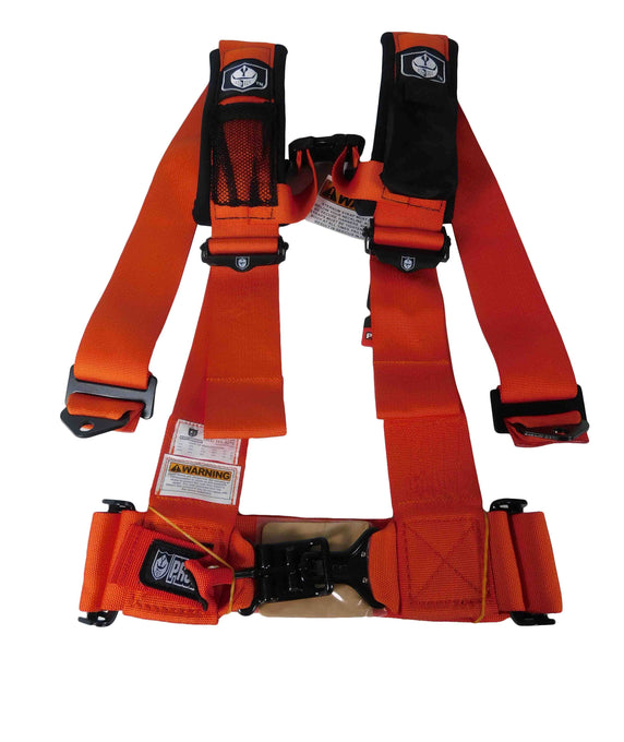 "Pro Armor A115230OR 5 Point 3"" Harness with Sewn in Pads - Orange"