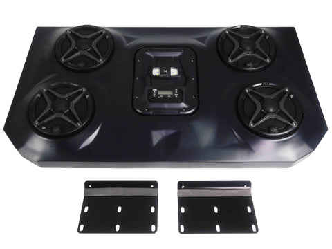 SSV Works WP3-RZF3O4A POLARIS RZR XP4 BLUETOOTH 4 SPEAKER AUDIO SYSTEM