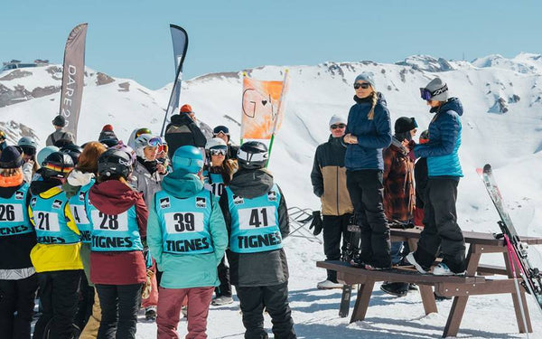 Girls Who Ride. Photo gallery from  Girls Shred Day in Tignes
