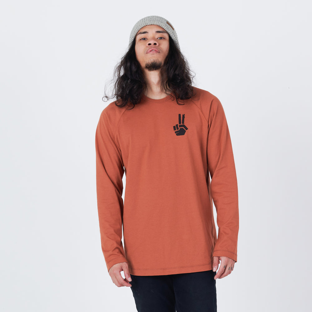 Men's Planks x Woodsy Hand of Shred Long Sleeve T-shirt