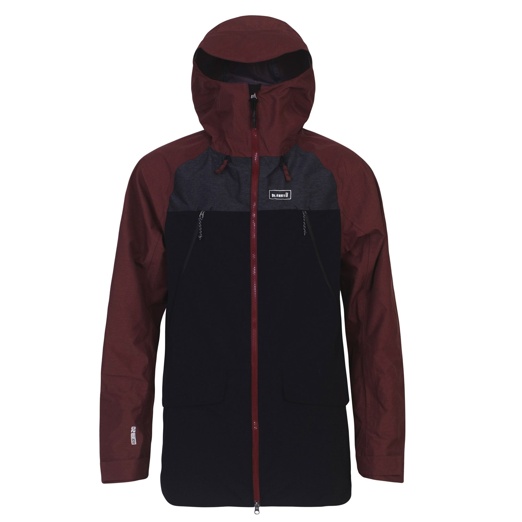 1b5da92932 Men's Yeti Hunter Shell Jacket Maroon | Ski wear | Planks Clothing – Planks  Clothing | UK
