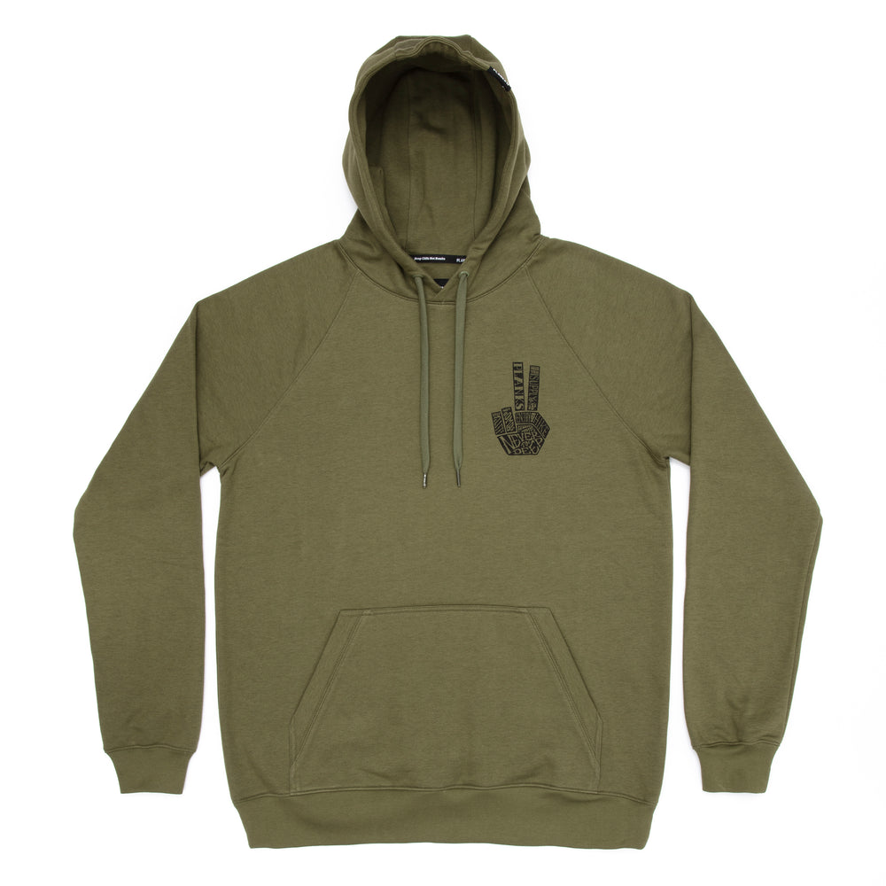 Men's Hand of Shred Hoodie - James 'Woodsy' Woods Signature Series