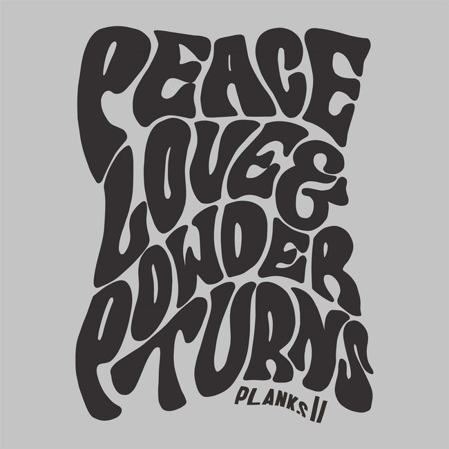 Men's Limited Edition Peace, Love & Powder Turns T-shirt