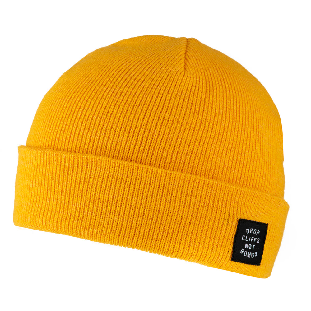 Unisex Drop Cliffs Stencil Beanie