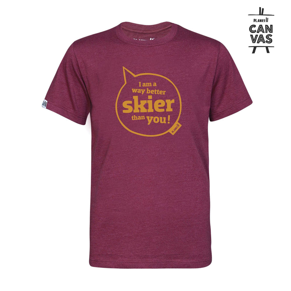 Men's Limited Edition Way Better Skier T-shirt