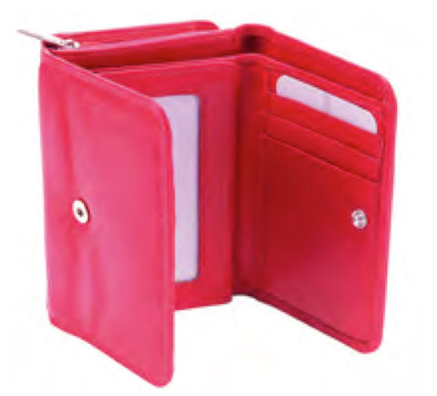Ladies Small Smooth Finish RFID Protected Purse