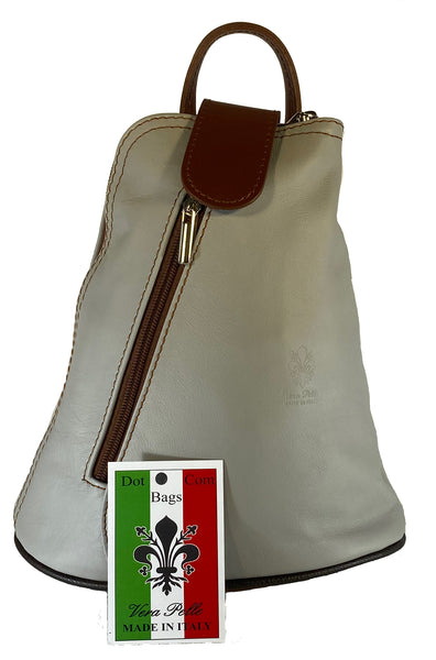 Ladies Smooth Finish Leather Backpack