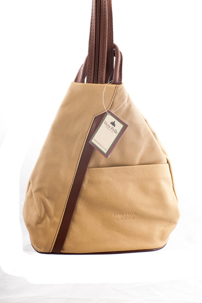 Ladies Soft Leather Backpack