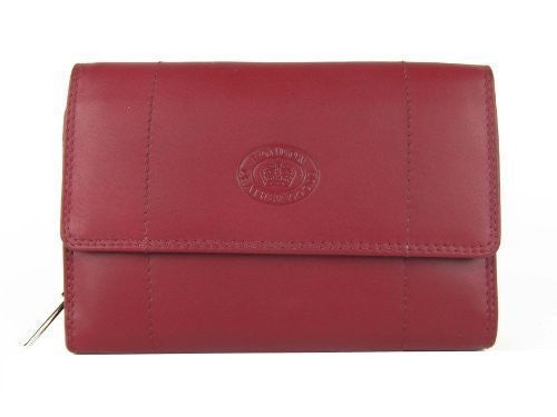 Ladies RFID Protected Soft Leather Utility Purse