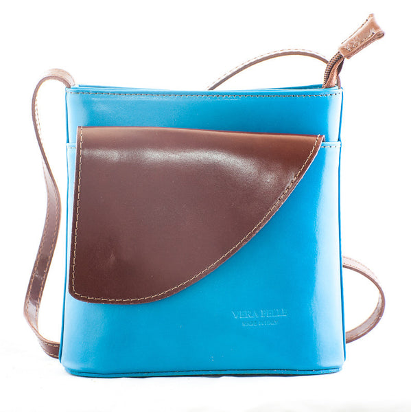 Ladies Contrast Curve Pocket Bag